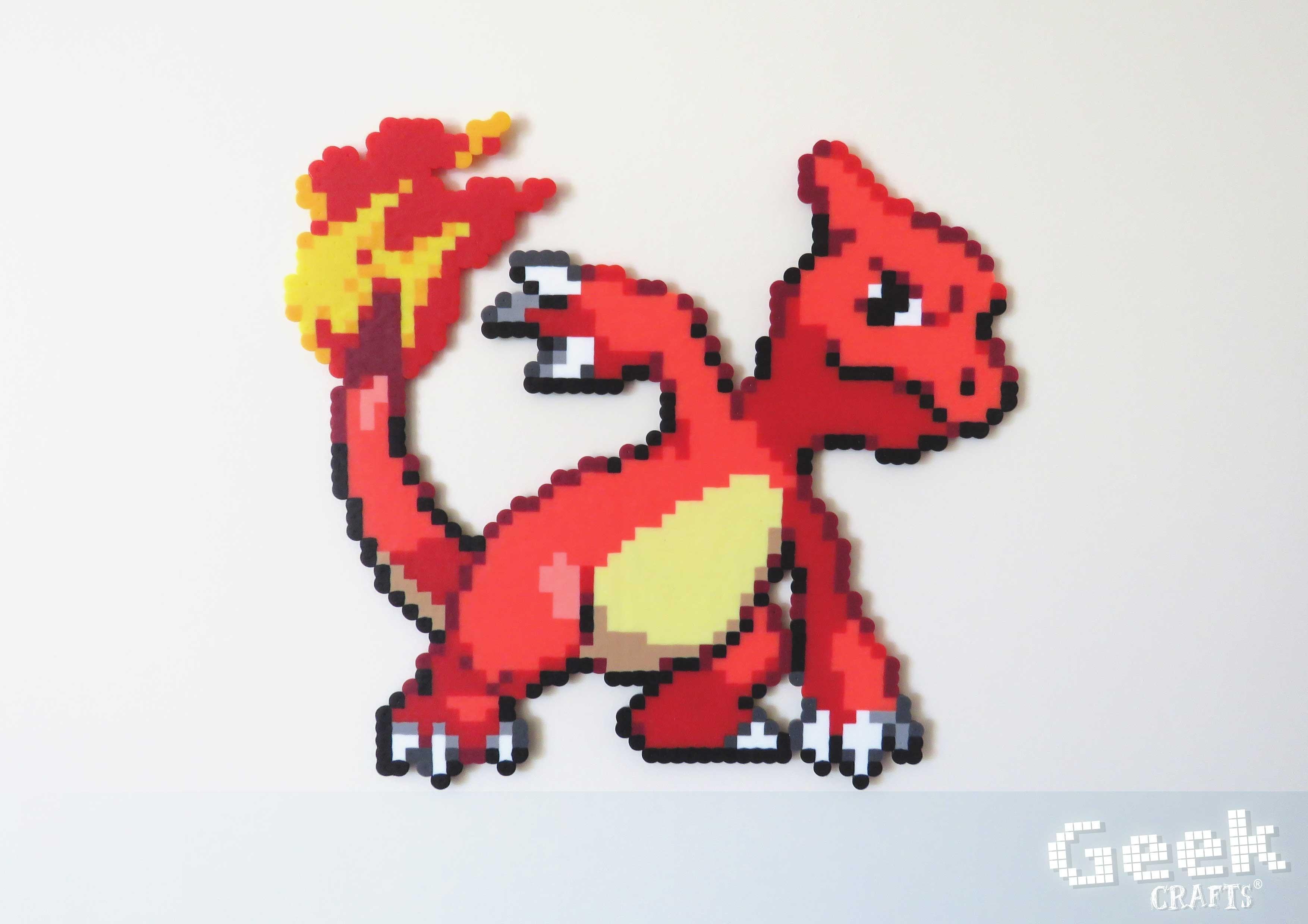 Reptincel Pixel Art