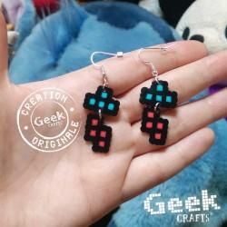 Mini Tetris - Bleu/Rouge