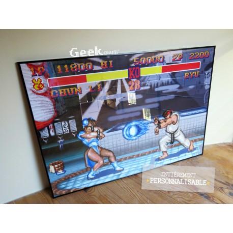 Chun-Li vs. Ryu - Street Fighter II