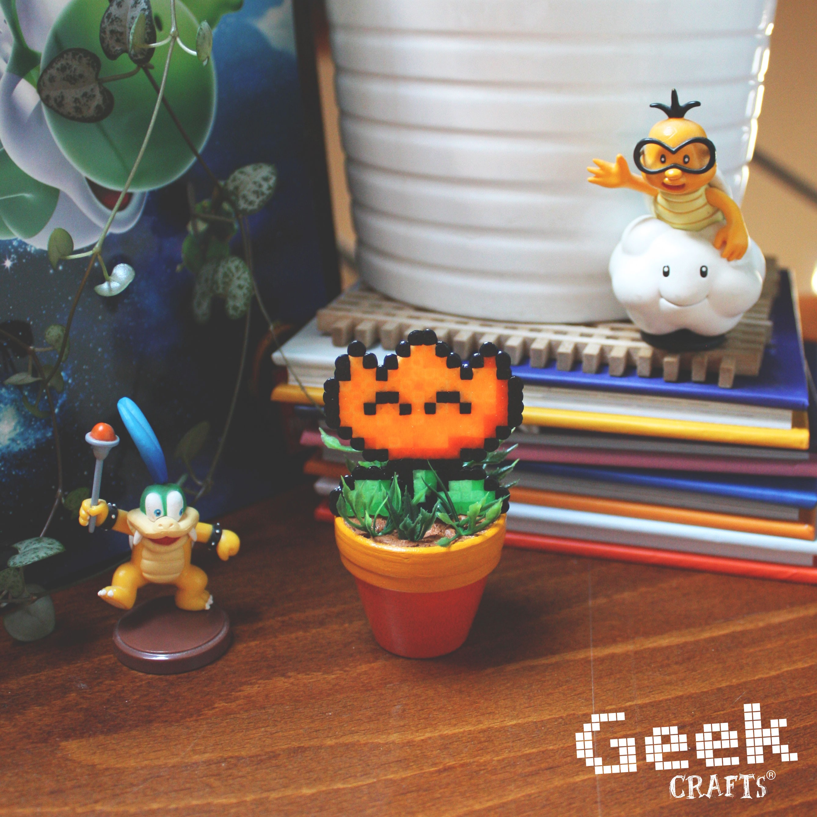 Fleur De Feu Orange Mini Geek Crafts