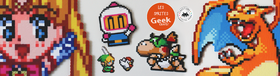 Les sprites Geek-Crafts !